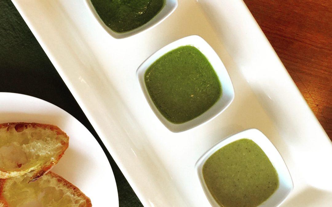 Three Easy Garden Fresh Pesto Sauces