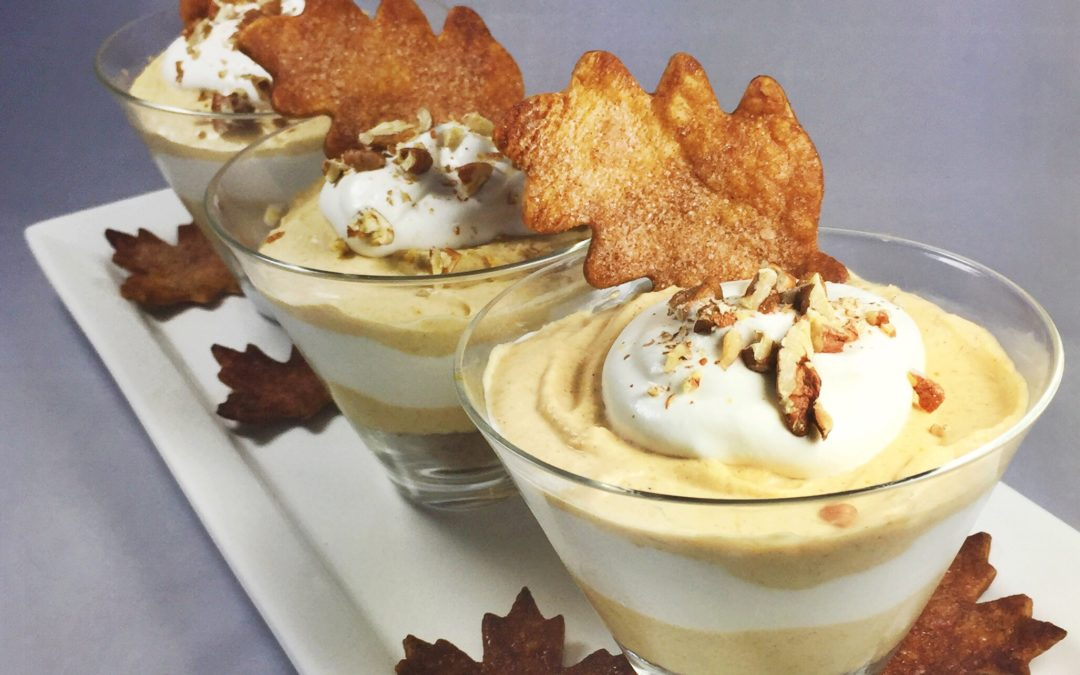 Bourbon & Pumpkin Pie Mousse