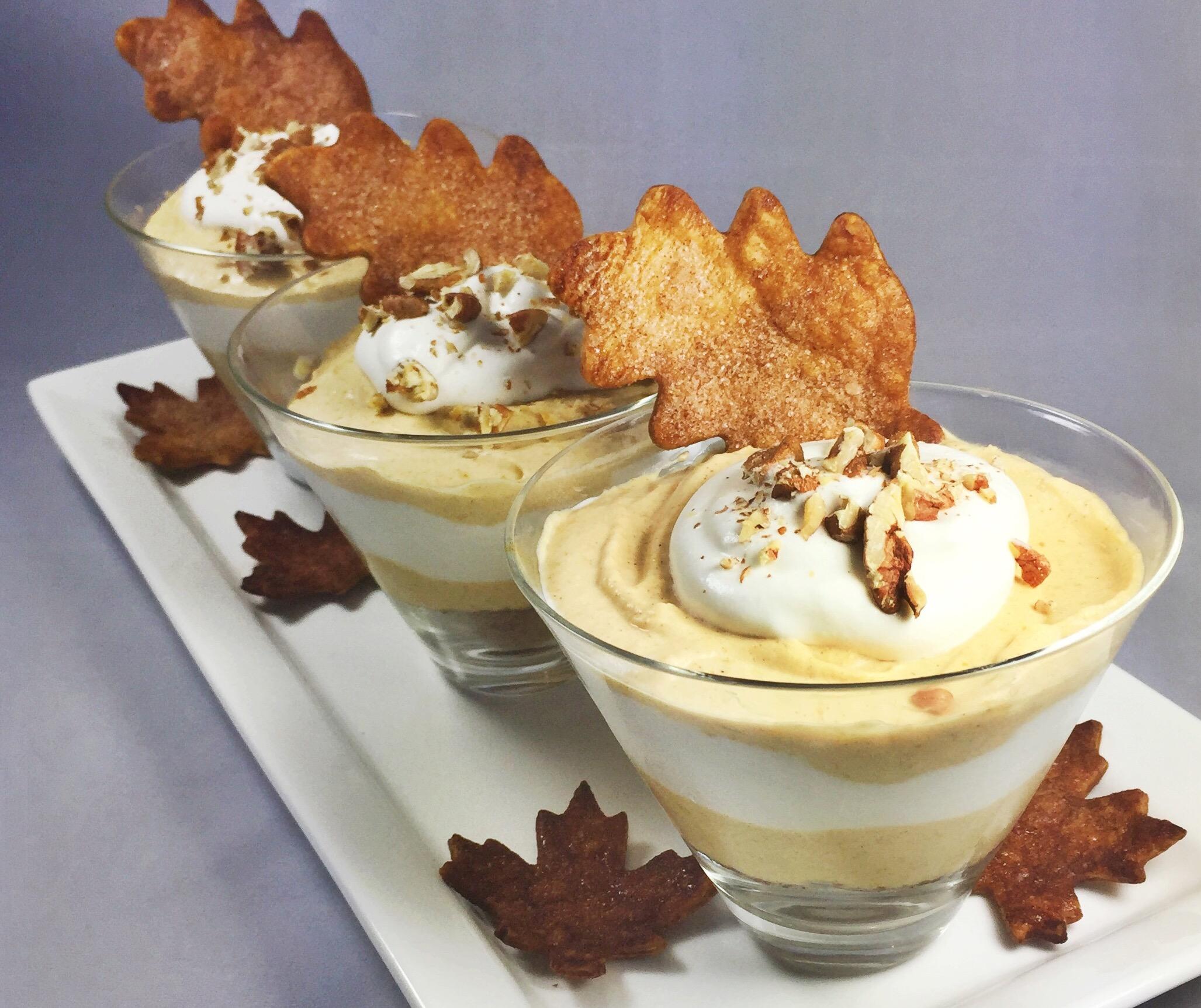 Bourbon & Pumpkin Pie Mousse - Fresh Chef Experience