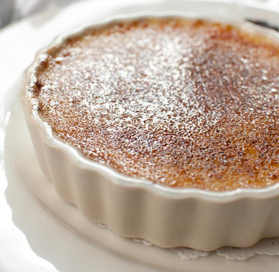 Chocolate Pecan Crème Brûlée