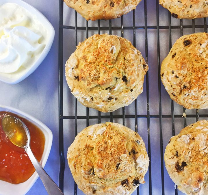 Orange & Currant Irish Scones