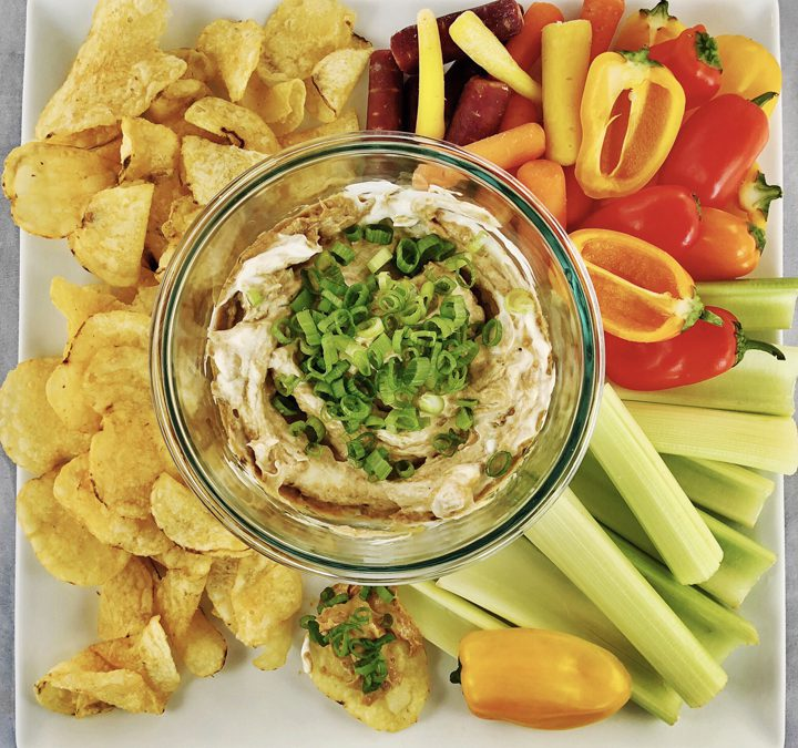 Oven-Roasted Vidalia Onion Dip