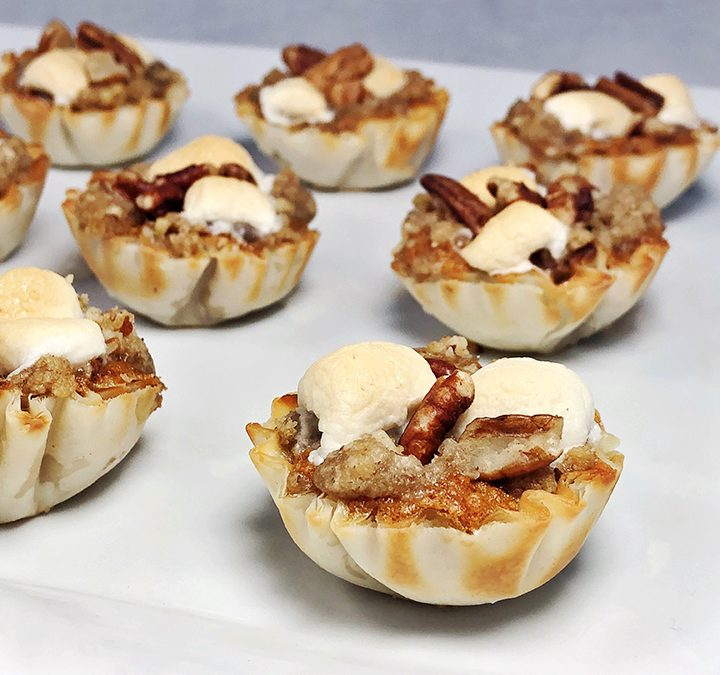 Sweet Potato Mini Tarts