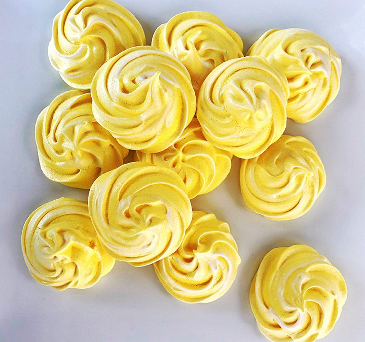 Banana Meringue Cookies