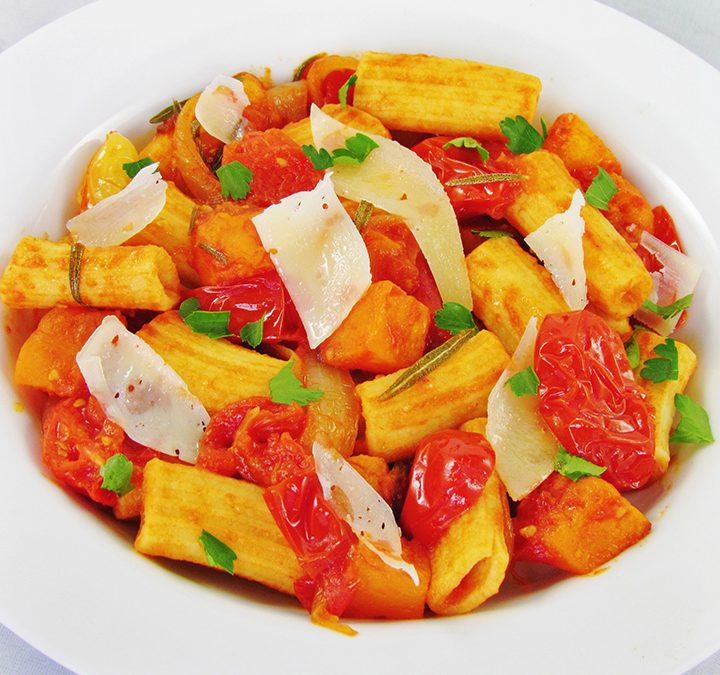Spring Fresh Pasta With Vegetables