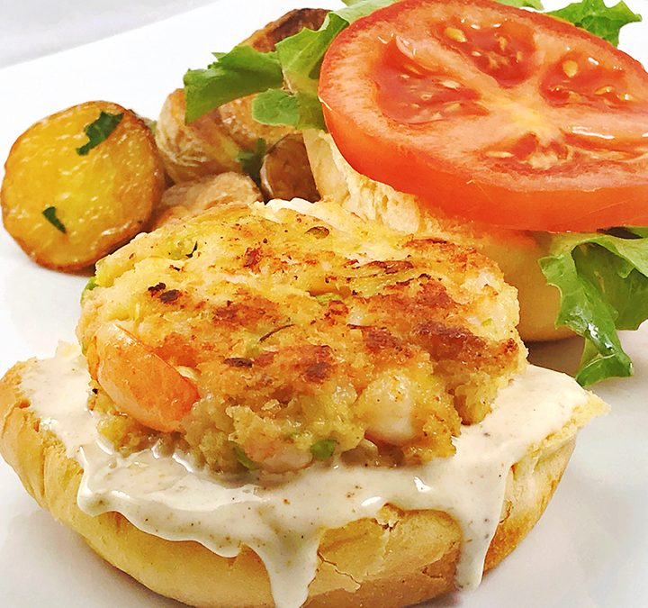 Shrimp Sliders with Aioli Sauce