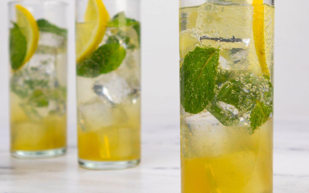 Sparkling Mint Julep Lemonade