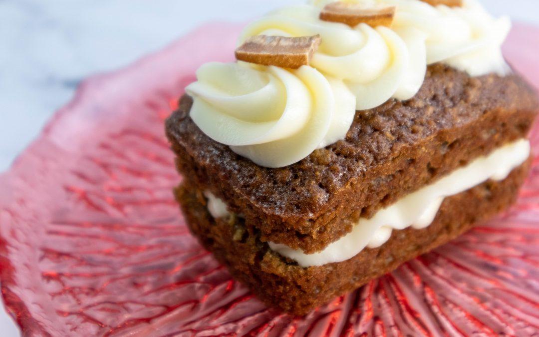 Pineapple, Banana, and Coconut Mini-Cakes